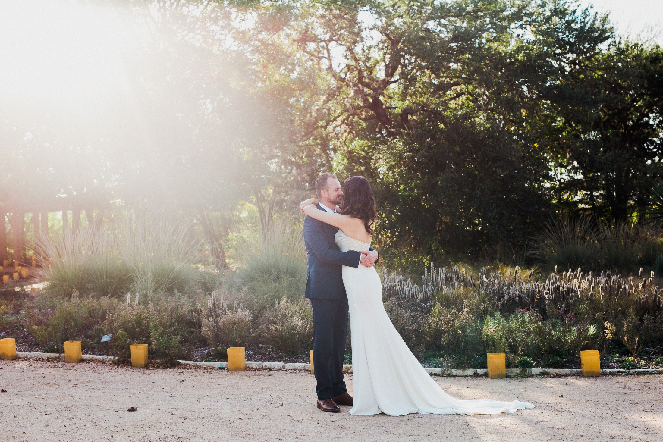 natural light portraits at the wildflower center