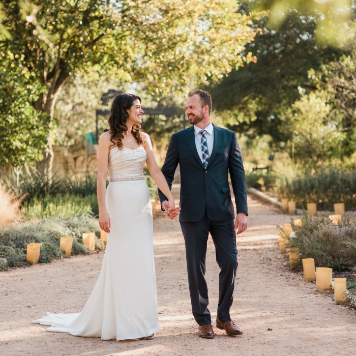 Lady Bird Johnson Wildflower Center Wedding - Leah & Dan