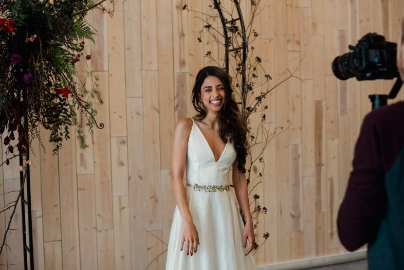 bridal video behind the scenes at peached social house with instant crush productions