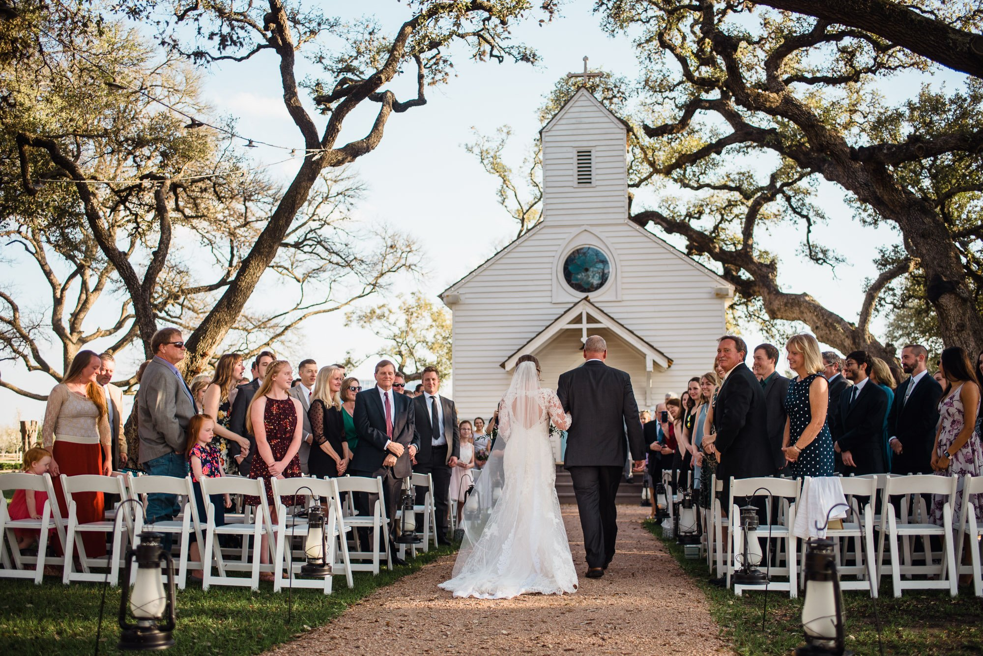 henkel hall wedding, round top wedding photography, la grange wedding photographer, austin wedding outside a little white church