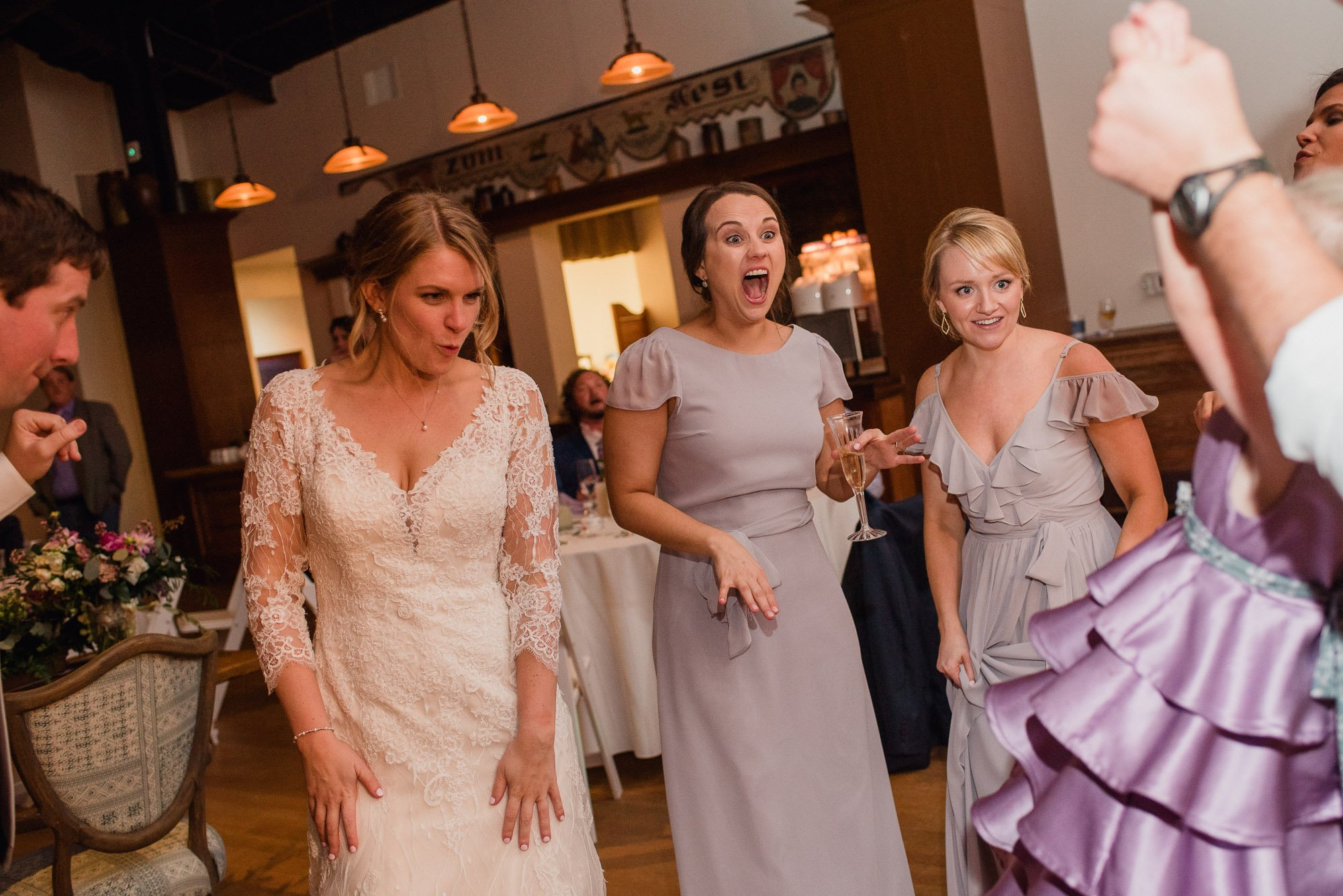 reception photos inside henkel hall in round top