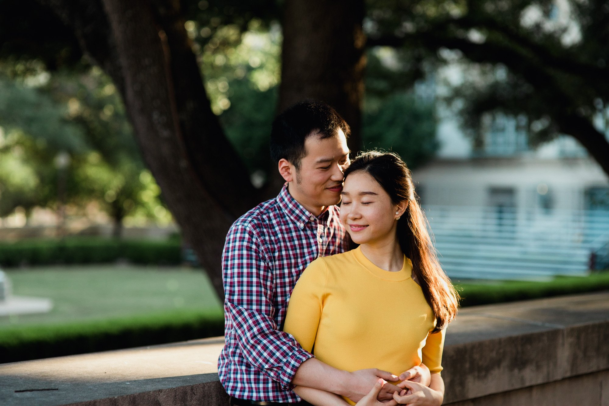 university of texas engagement portraits, UT austin photo locations, colorful engagement photographers