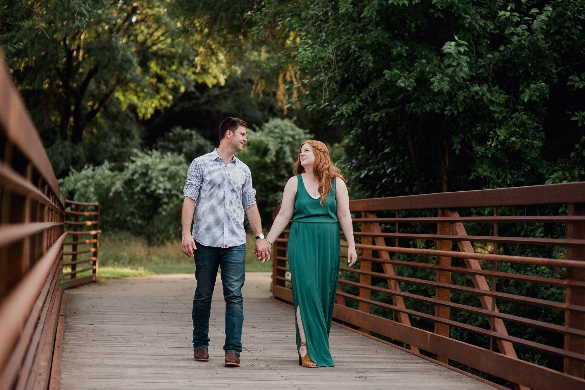 cedar park engagement session, couples session on a bridge in austin, brushy creek park engagement session, summer engagement photos at brushy creek park, park engagement photos in austin texas