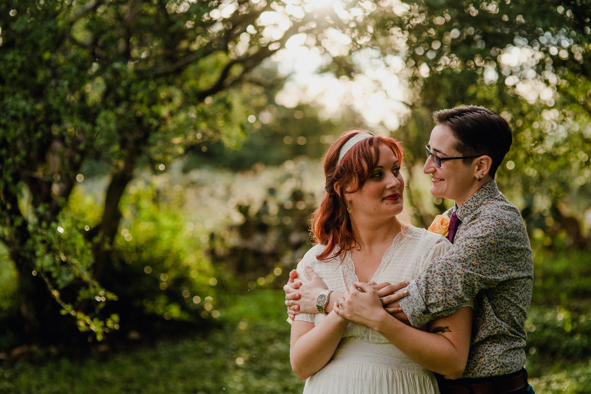 austin same sex wedding photographer, gay wedding photographers in texas, austin texas wedding photographer for creative and colorful couples, backyard wedding in austin texas