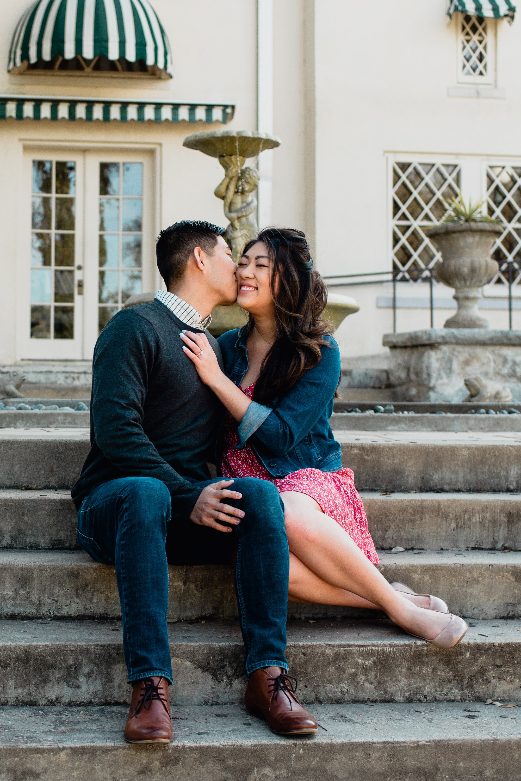 laguna gloria engagement photos
