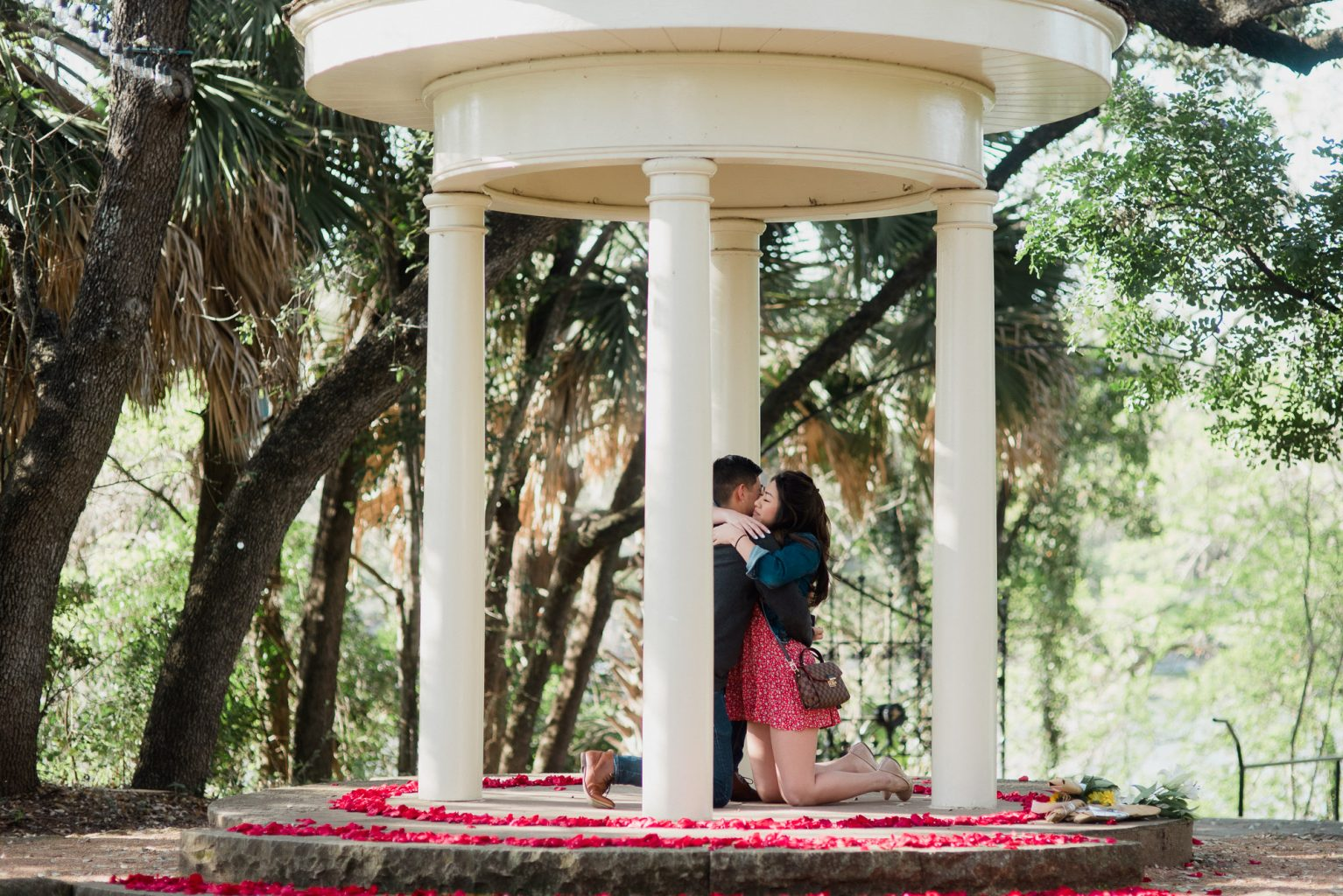 austin proposal photographer, romantic proposal photos in austin, natural and romantic austin proposal