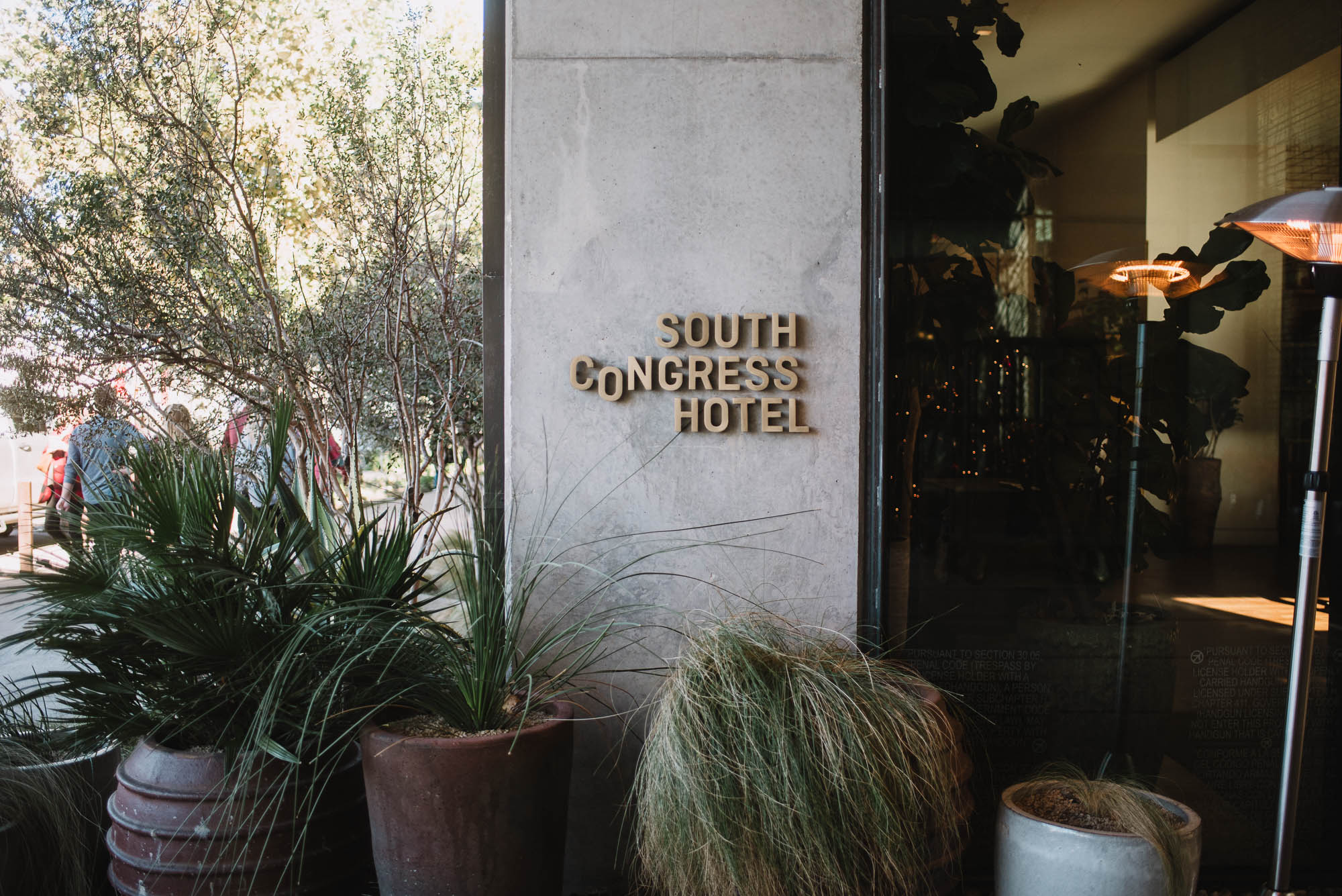 south congress hotel exterior