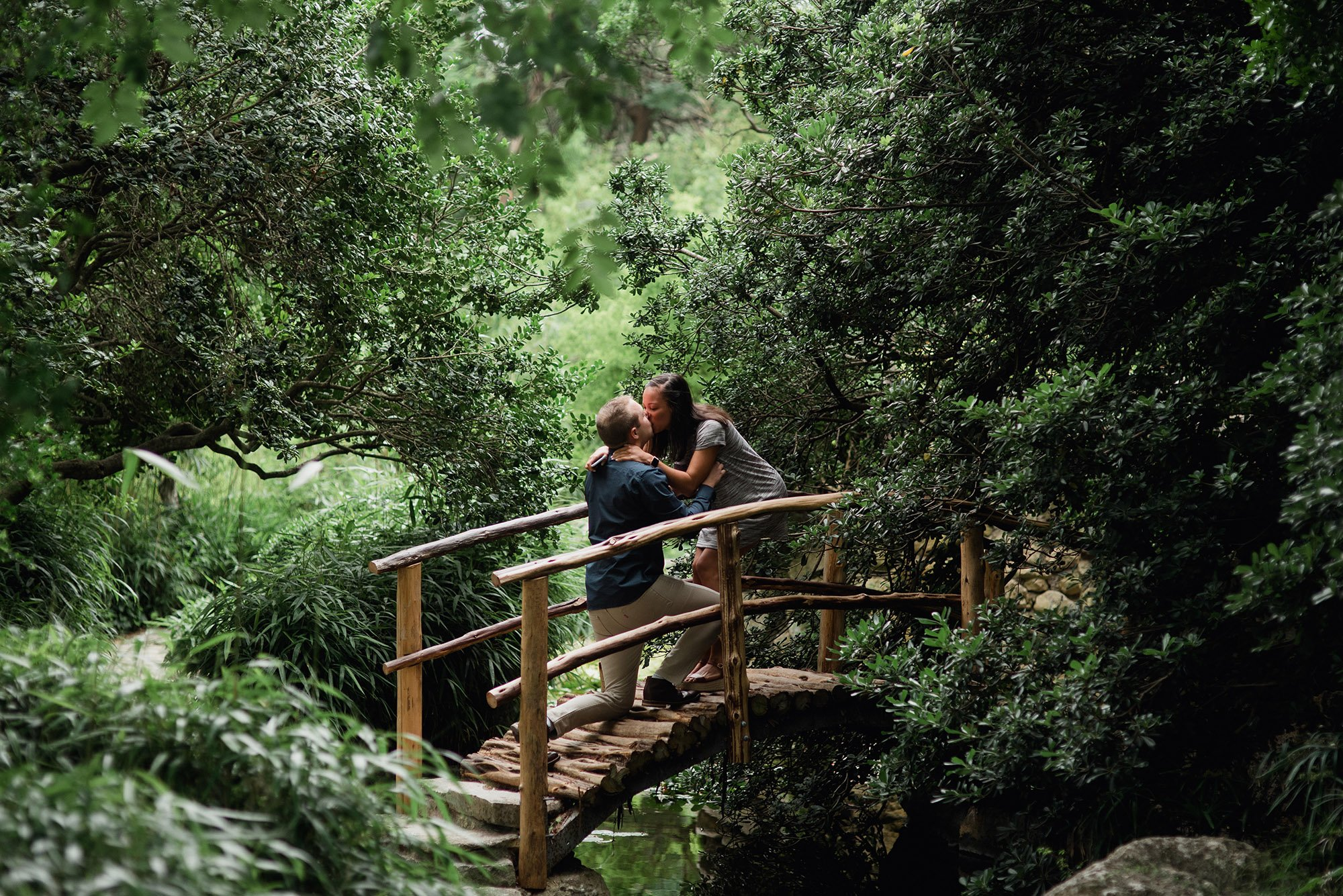 garden proposal in austin texas, austin proposal photographer, surprise proposal at zilker botanical garden,