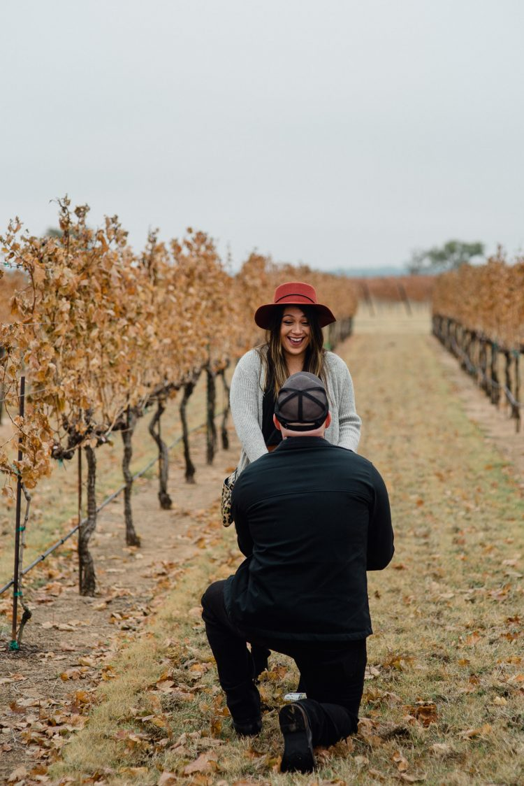 vineyard proposal in austin texas