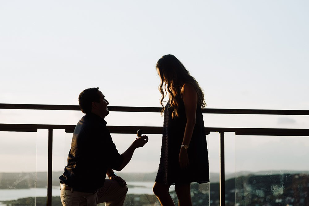romantic wedding proposal locations in austin