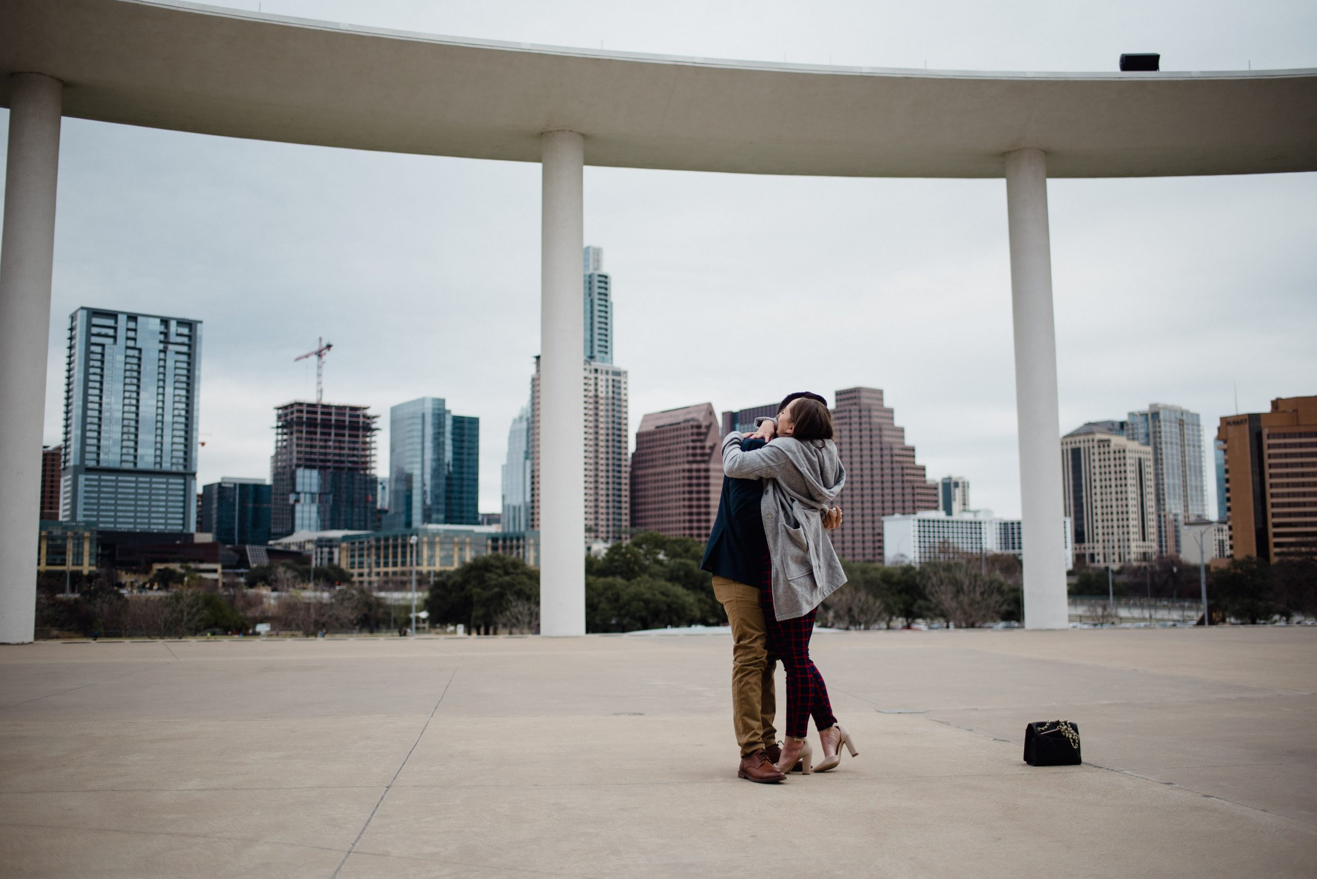 best austin proposal locations with a view of downtown, austin proposal photographer