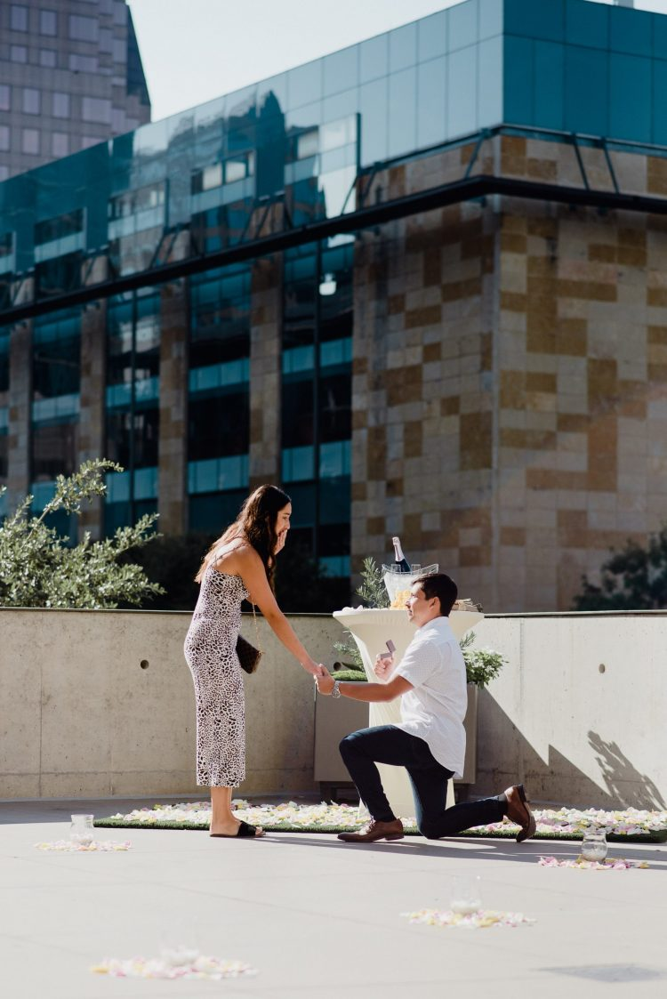 downtown austin proposal photographer