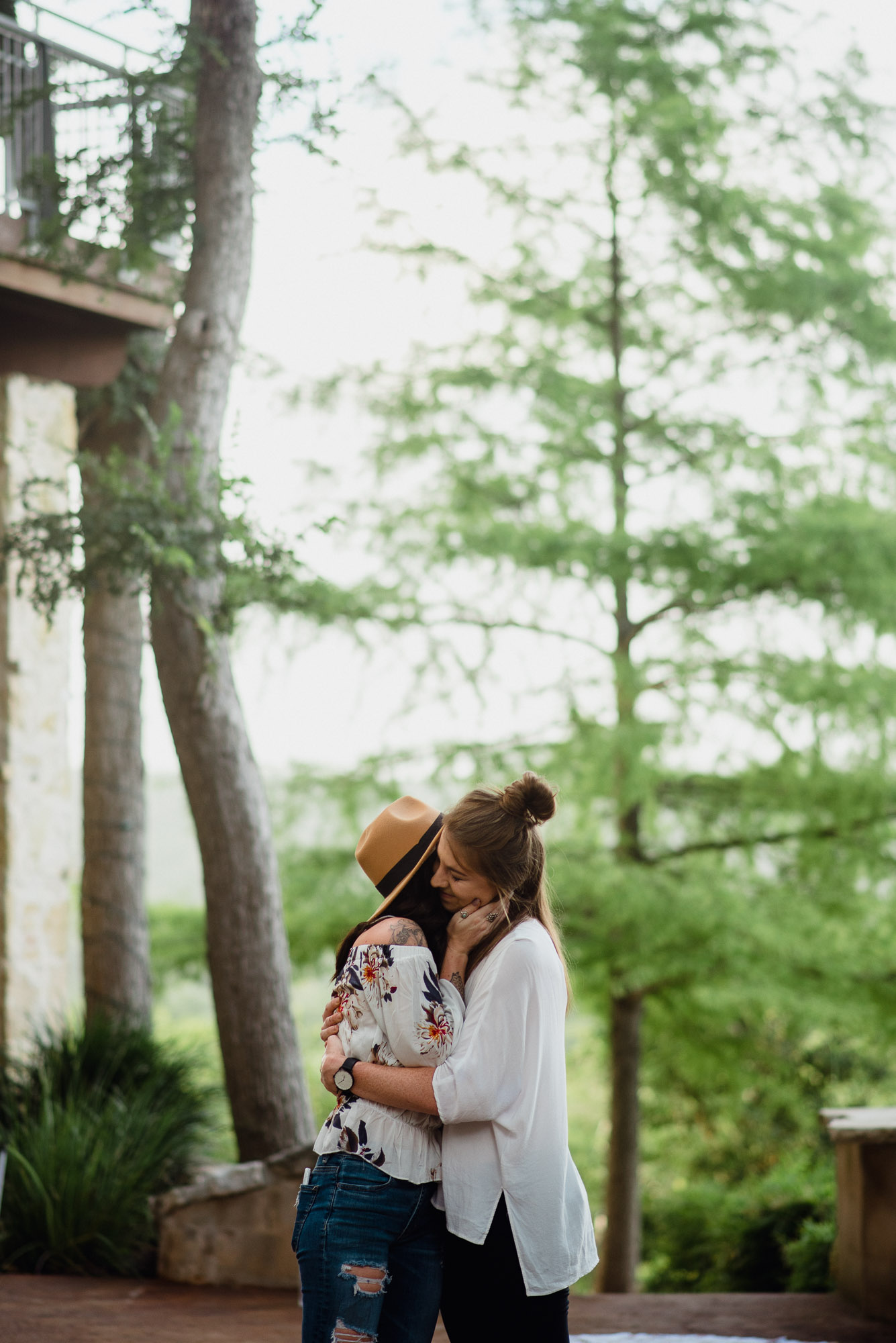 Austin lgbtq wedding and portrait photographer, same sex engagement session, Austin same sex proposal